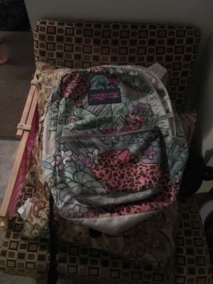 Jansport flower backpack for Sale in Chula Vista, CA