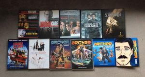 9 Dvds & 2 Blu Rays for Sale in Austin, TX