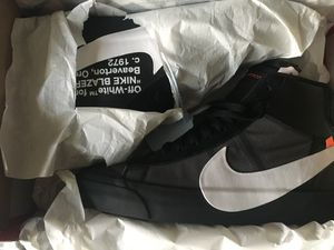 Off white x Nike Blazers for Sale in Dunlap, IL