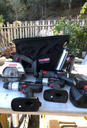Craftsman cordless tool set for Sale in Grover Beach, CA