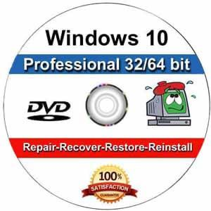 Windows 10 Pro Reinstall Repair Recovery Disk for Sale in Coppell, TX