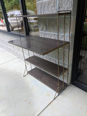 Mid-century Retro Metal 4 Tier Shelf Unit / Plant Stand for Sale in Midlothian, VA