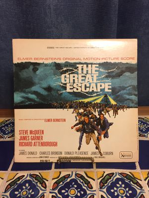 """Vintage """"The Great Escape"""" with Steve McQueen Album 📺 for Sale in Santa Fe Springs, CA"""