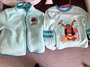 Toddler Moana top and jacket for Sale in Riverton, NJ