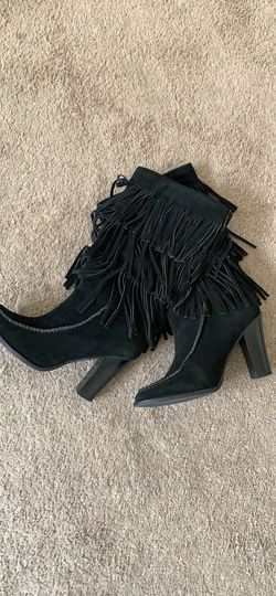 Ralph Lauren Fringe Boots for Sale in Washington,  DC