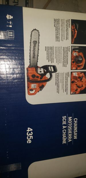 Brand New Husqvarna 435e 16 Inch Chainsaw for Sale in West Haven, CT