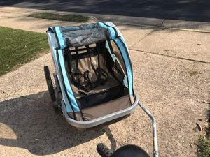 Bike trolley and stroller for 2 kids for Sale in Sterling, VA