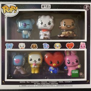 Funko POP BT21 Exclusive 7-Pack New In Box for Sale in San Diego, CA