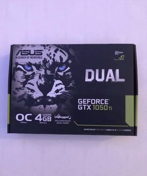 ASUS GeForce GTX 1050Ti DUAL Graphics card, 4GB of memory. for Sale in Chicago, IL