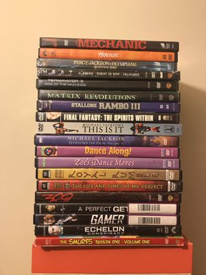 DVD Movies $2 Each All Movies In Good Condition for Sale in Reedley, CA