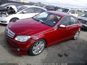 Auto parts 2009 MERCEDES C-CLASS C300 for Sale in Fort Worth, TX