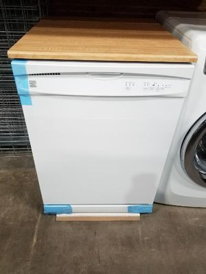 BRAND NEW BUILD IN 24INCH PORTABLE DISHWASHER🧢WHITE GLOSSY for Sale in Cerritos, CA