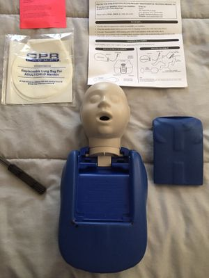 CPR training manikin for Sale in Tampa, FL