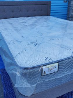 BRAND NEW Headboard Frame Bed And Mattress for Sale in Las Vegas,  NV