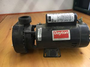 Pond spa or pool pump motor 230 volt 1.5 or 0.19 horse two speed for Sale in Las Vegas, NV