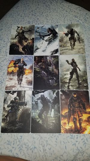 Call of Duty: Black Ops III 9 Limited Edition concept Art Cards for Sale in Chaska, MN