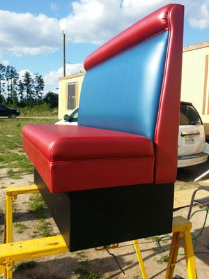 Custom booth (butacas) for Sale in Cleveland, TX