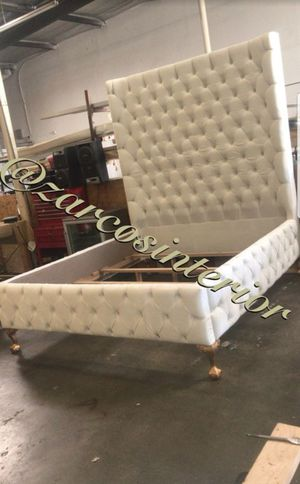 FURNITURE BED FRAME FOR SALE CUSTOM MADE for Sale in Hacienda Heights, CA
