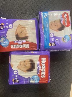 Huggies movers size 3 for Sale in Salinas,  CA