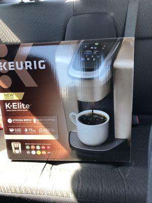 Keurig K-Elite for Sale in Hayward, CA