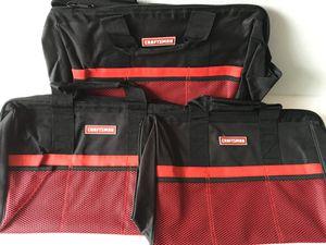 "18"" Craftsman Tool Bags Qty 3 for Sale in La Mirada, CA"