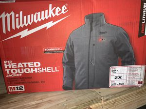 Brand new Mikwakee heated tough shell jacket with battery and charger not negotiable for Sale in Plant City, FL