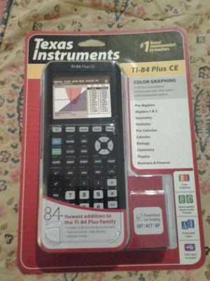 Texas instruments ti-84 plus ce for Sale in Mesa, AZ