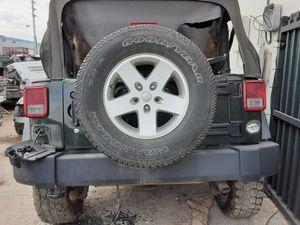 2014 jeep wrangler spair tire wheel holder front door tail gate for Sale in Opa-locka, FL