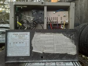 Power Converter Unit w/ 45amp Battery Charger for Sale in Stockton, CA