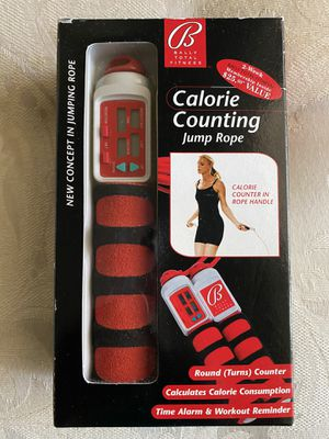 Bally Calorie Counting Jump Rope for Sale in Pembroke Pines, FL