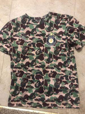 Bathing Ape x Puma Soccer Jersey for Sale in Bakersfield, CA