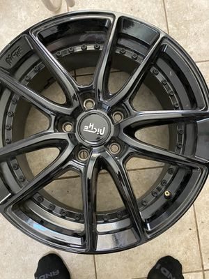 Black rims 17's for Sale in Fort Worth, TX