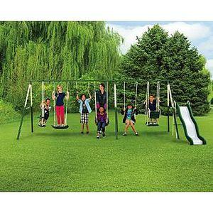 9 play swing set for Sale in Ocoee, FL