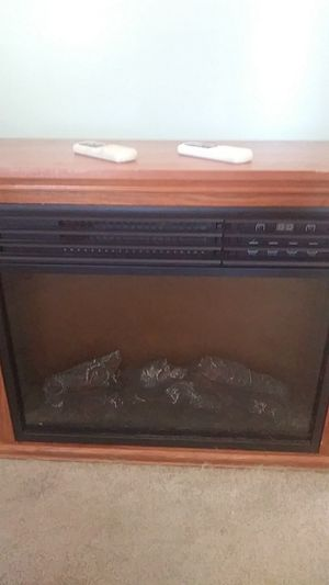 Electric heater with fake fire for Sale in Braintree, MA