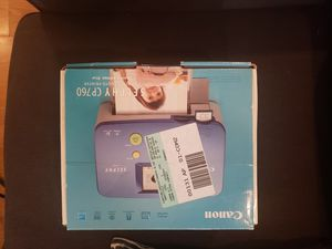 Selphy cp760 photo printer for Sale in Ontario, CA