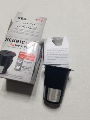 Keurig 2.0 k cup coffe grounds holder for Sale in YPG, AZ