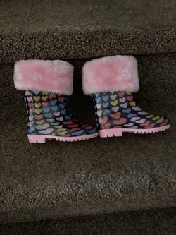 Brand new! Warm And Cute! Toddler Rain Boot's! Waterproof for Sale in Philadelphia,  PA