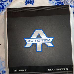 Auto Tek Amplifier for Sale in Beaverton, OR