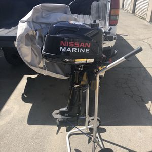 Nissan Marine 6HP Outboard Engine Brand New for Sale in Escondido, CA
