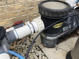 Pool pump 1Hp motor frozen worked last summer for Sale in Eighty Four, PA