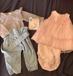 2 outfit set with pacifier for Sale in Phoenix, AZ
