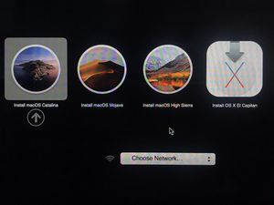 4-in-1 MacOS USB installer drive Catalina Mojave High Sierra El Capitan Apple MacBook iMac for Sale in Bay City, MI