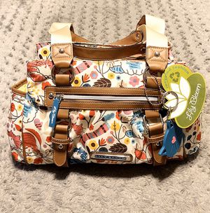 New! Women's Lily bloom satchel paid $65 Brand-new never used! Color Lovecats London triple section Satchel. Made with environmental friendly materia for Sale in Washington, DC