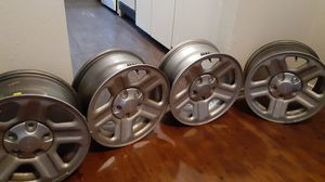 16 jeep wrangler wheels with sensors more information texte for Sale in Arlington, TX