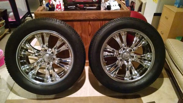 20 inch rims with six lugs