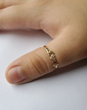 14k gold ring with diamonds for Sale in Miami Shores, FL