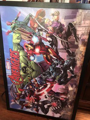 Avengers poster for Sale in San Fernando, CA