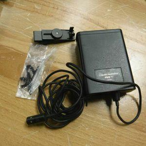 Audio-Technica Pro 70 Minature Condenser Microphone Complete except mi clip for Sale in Hesperia, CA