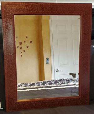 Large Brown Wall Mirror for Sale in Draper, UT