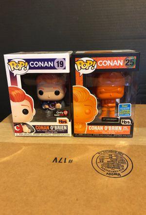 Conan OBrien Funko Pops for Sale in Stockton, CA